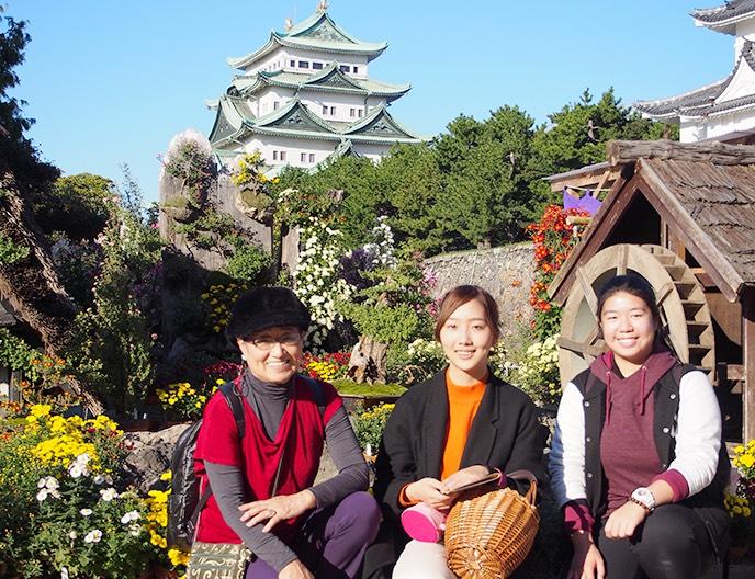 名古屋城見学
